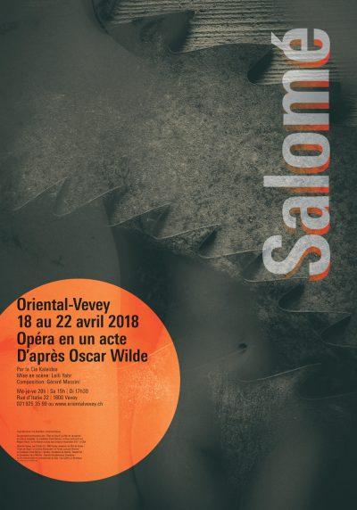 Affiche de l'opéra Salomé.